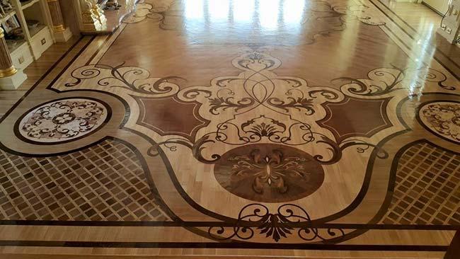 535: Wood Rug Floor