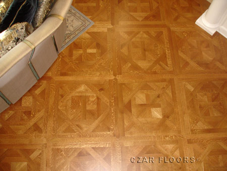 386: Rift/Quartered White Oak Bordeaux Parquet