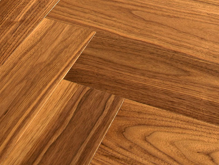 American Walnut herringbone