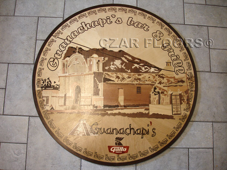375: Custom Medallion for Mexican Restaurant Chain