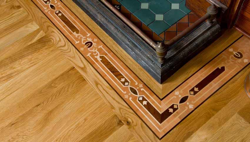 Wood Borders, hardwood floor borders