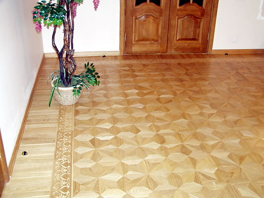 13: M2 parquet and B4 border