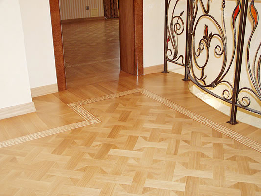 1: M21 parquet and B6 border