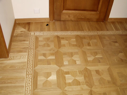 17: M9 parquet and B6 border