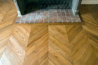Chevron Herringbone Floor