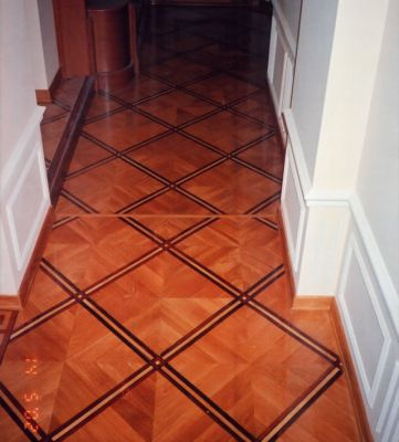 36: M13 parquet nicely fit for traditional and contemporary setting