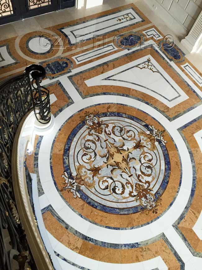 476: Custom marble entry floors