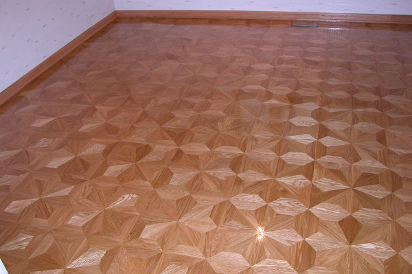 58: M2 parquet is sparkling on the newly installed floor
