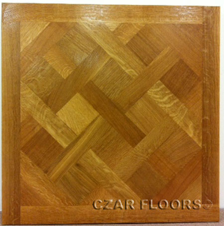 387: Rift/Quartered sawn White Oak Versailles Parquet