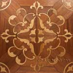 ID:404; Custom Inlay parquet tile