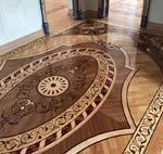 ID:537; Wood Rug Floor Example