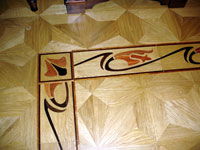 ID:83; B17 Border installed with M2 parquet