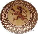 ID:399; Scottish Logo Inlay