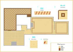 Floor Plan Drawing for Mr.Forbs Residence