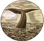 ID:554; Tail Custom wood Medallion