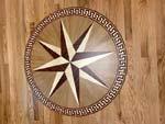 ID:597; PC7 wood medallion