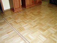 B6 border with Fingerblock pattern parquet M29 - ID:16