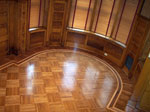 M29 fingerblock parquet with custom round border - ID:318
