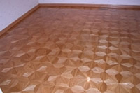 M2 parquet is sparkling on the newly installed floor - ID:58