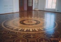 P4 Medallion surrounded by MX6 Artistic Parquet - ID:29
