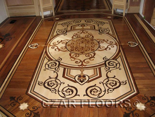 437: Custom wood inlay