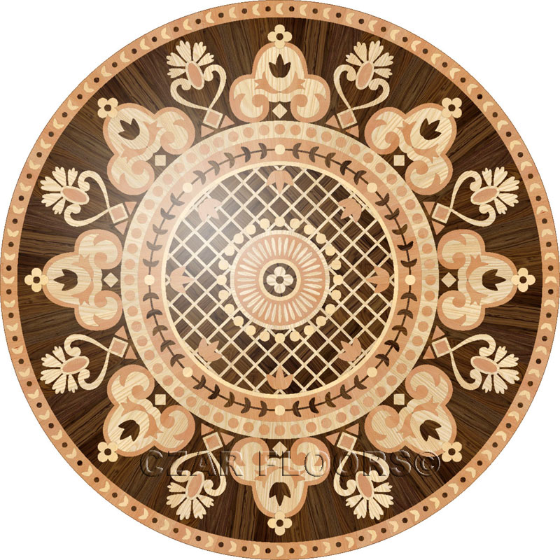 Large view of the floor design