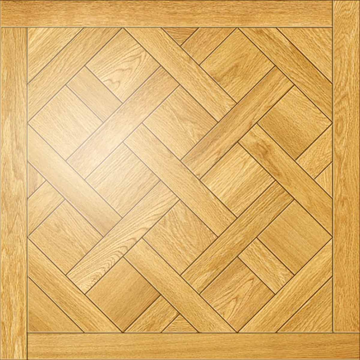 Versailles Parquet Face Taped Square Edge Straight Cut Unfinished
