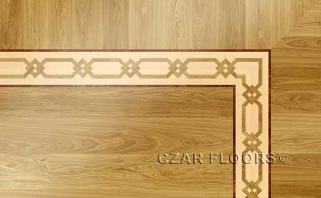 B12 Wood Floor Border