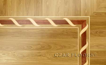 B2 Wood Floor Border