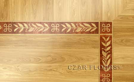 B24 Wood Floor Border