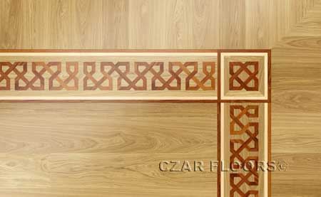 B5 Wood Floor Border