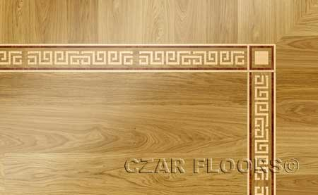 B6 Wood Floor Border