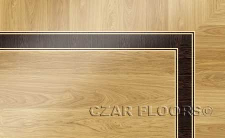 BA001 Wood Floor Border