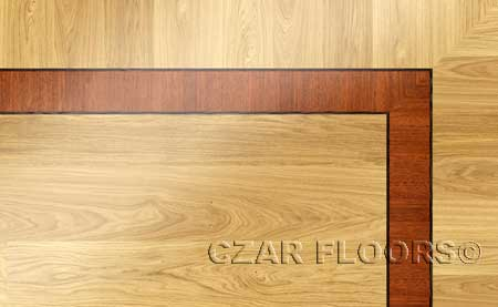 BA006 Wood Floor Border