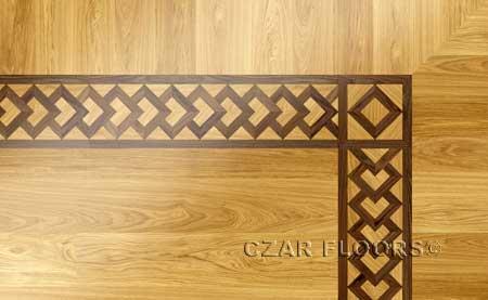 BA023 Wood Floor Border