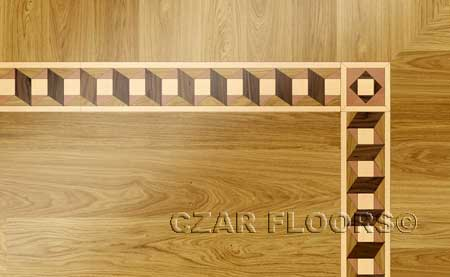BA059 Wood Floor Border