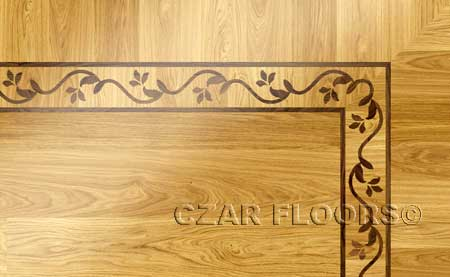 BA064 Wood Floor Border