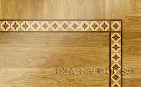 BA071 Wood Floor Border
