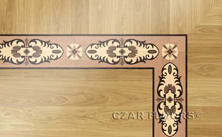 BA101 Wood Floor Border