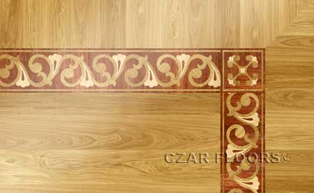BA103 Wood Floor Border