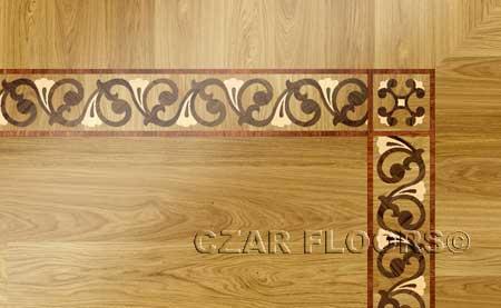 BA103B Wood Floor Border