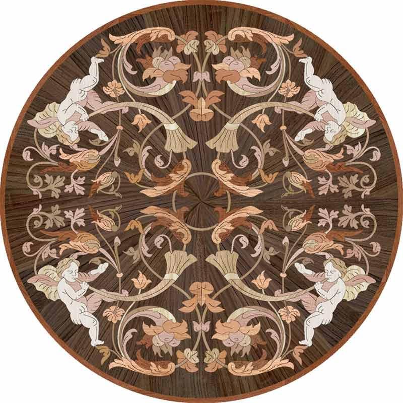 Sonata Wood Floor Medallion