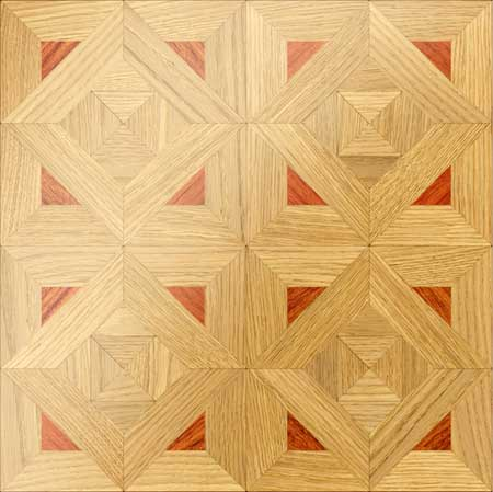 M24 Parquet, face-taped, square edge, straight cut, unfinished