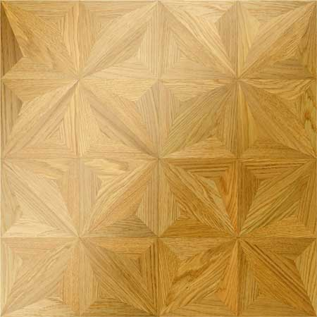 M25 Parquet, face-taped, square edge, straight cut, unfinished