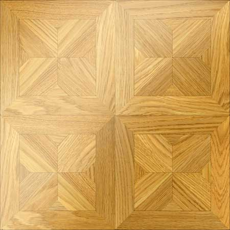 M26 Parquet, face-taped, square edge, straight cut, unfinished