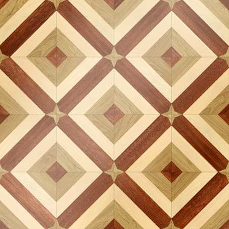 MODA Parquet, face-taped, square edge, straight cut, unfinished