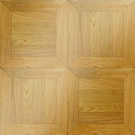 Monticello Parquet, face-taped, square edge, straight cut, unfinished