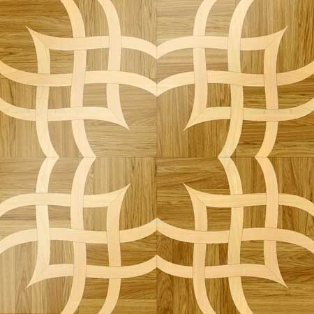 MX1 Parquet, face-taped, square edge, straight cut, unfinished