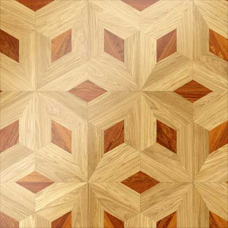 MX15 Parquet, face-taped, square edge, straight cut, unfinished
