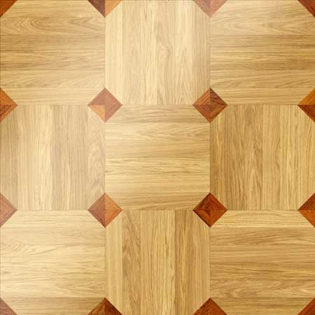 MX16 Parquet, face-taped, square edge, straight cut, unfinished